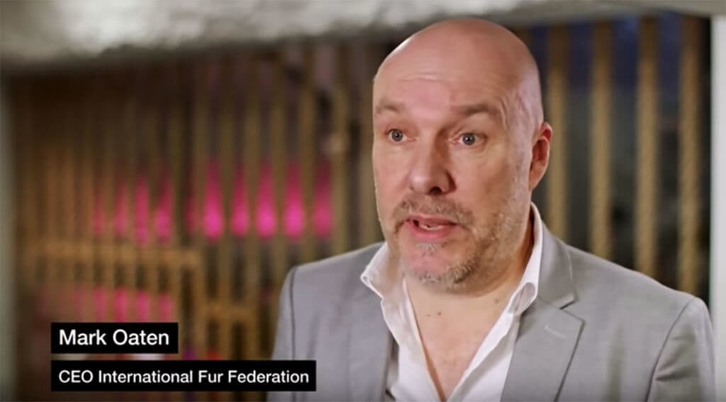 """We do not skin animals alive and animal rights activists are aware of this,"" says IFF's Mark Oaten."